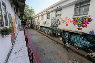 """Bắt đầu mở từ tháng 5/2014, nhà ga 3A (đường Tôn Đức Thắng, quận 1, TP HCM) được coi là """"tổ hợp vui chơi"""" cho giới trẻ Sài Gòn, được phỏng theo mô hình Zone 9 một thời đình đám ở Hà Nội. Tuy nhiên, sau 3 năm hoạt động, khu này sẽ phải đóng cửa để phục vụ cho các dự án đô thị của thành phố"""