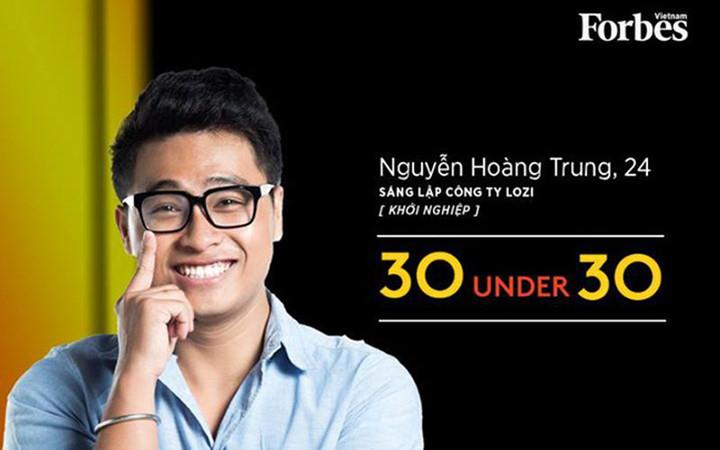 Mới 24 tuổi, Nguyễn Hoàng Trung hiện là CEO của công ty Lozi