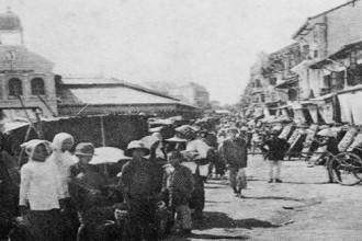 Chợ Lớn (Ảnh tư liệu trích từ tập Sài Gòn – Gia Định 300 năm)