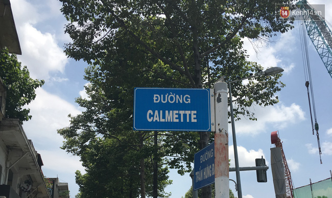 Đường Calmette thuộc phường Thái Bình, quận 1 của Sài Gòn