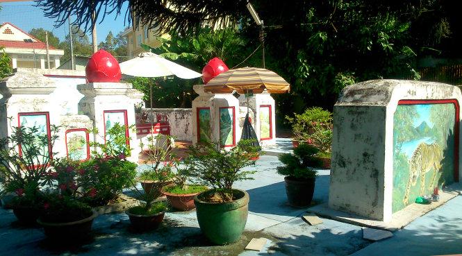Lăng Võ Tánh ở hẻm số 19 đường Hồ Văn Huê, Q.Phú Nhuận, TP.HCM - Ảnh: Hồ Tường