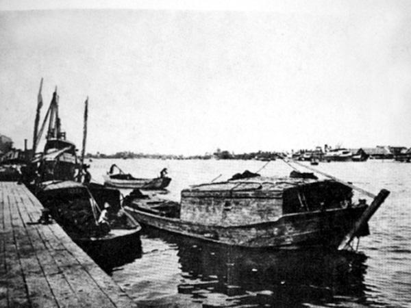 Sông Sài Gòn (Ảnh tư liệu trích từ tập Sài Gòn – Gia Định 300 năm)