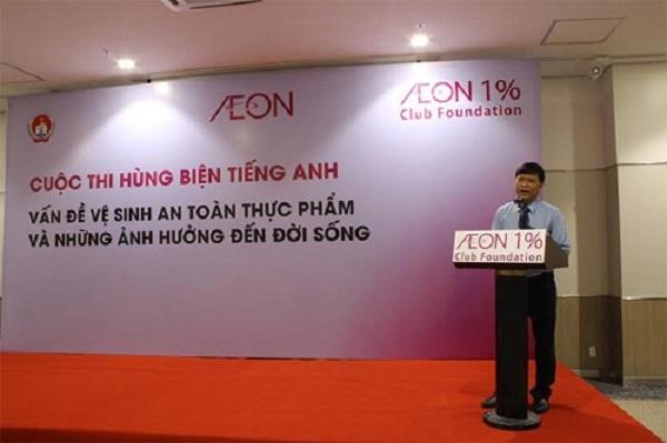 Ông Nguyễn Văn Hiếu - Phó Giám Đốc Sở Giáo Dục và Đào Tạo TP.HCM phát biểu bắt đầu Vòng chung kết cuộc thi