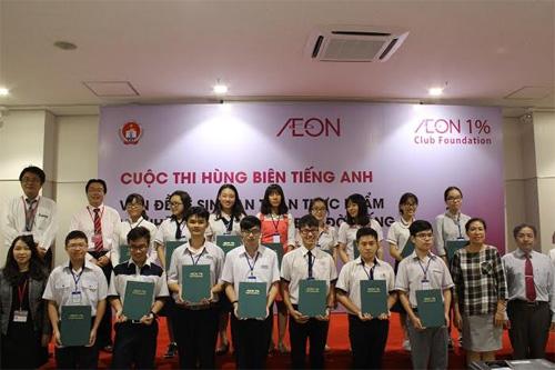 15 học sinh dự thi Vòng chung kết Cuộc thi hùng biện tiếng Anh 2017