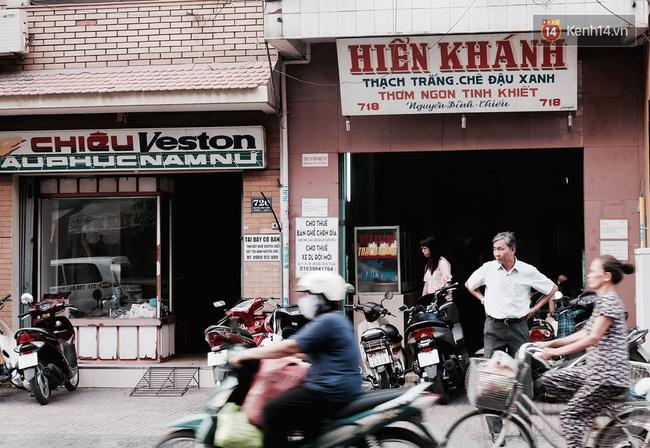 Tiệm chè Hiển Khánh được mở từ năm 1959.