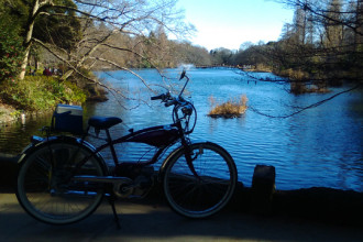 Kiểu dáng của dòng xe Fuki 310 tương tự những chiếc xe đạp tại châu Âu ở nửa đầu Thế kỷ 20.
