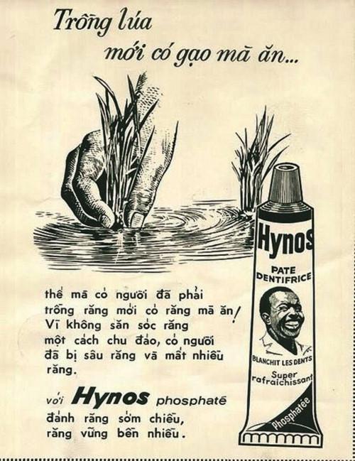 Đoạn quảng cáo rất có... liên quan giữa việc trồng lúa và việc chăm sóc răng miệng TƯ LIỆU