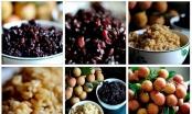 Mâm cúng Tết Đoan ngọ của người Việt thường có hoa quả, bánh tro,rượu nếp để diệt sâu bọ