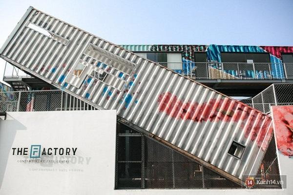 Vẻ ngoài nổi bật của The Factory.