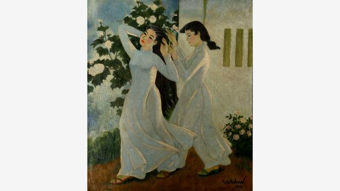 Bản giao hưởng áo trắng (Hoàng Tích Chù), giá ước tính 62.000-80.000 USD - Ảnh: LYTHI