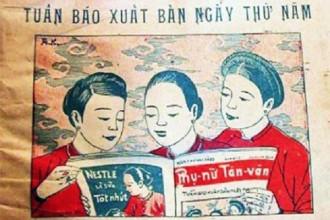 Bìa tuần báo Phụ Nữ Tân Văn số 83 năm 1931 - Ảnh tư liệu