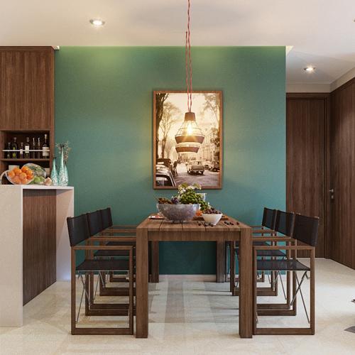 Phong cách Sài Gòn hiện hữu trong từng chi tiết thiết kế của dự án