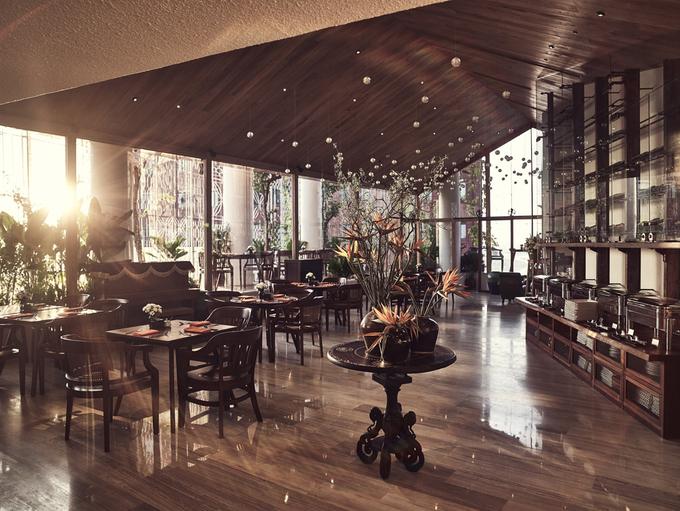 Lấy cảm hứng từ nền văn hoá địa phương, thiết kế của khách sạn cũng như nắm bắt được tâm hồn của người Sài Gòn. Những khoảng xanh dịu mát khơi gợi sự bình yên trong tâm hồn lữ khách, xóa nhòa đi bao bận tâm, phiền muộn thường ngày.