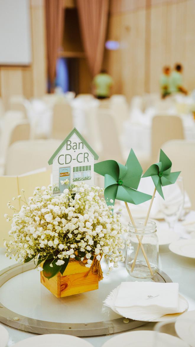 Những chi tiết nho nhỏ xinh xắn trong concept ngôi nhà của tiệc cưới.