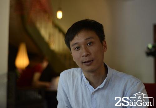 Vũ Anh Tú- Giám đốc nhà hàng người rất tâm huyết với dự án tạo công ăn việc làm cho người khiếm thị, khiếm thính