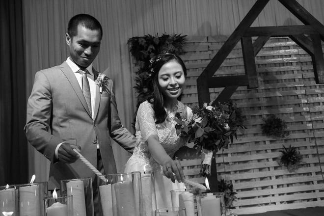 Những hình ảnh lung linh trong tiệc cưới của Trâm - Luân.