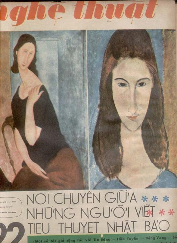 Bìa tuần báo Nghệ Thuật