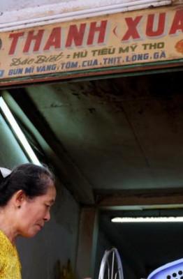 Tiệm hủ tiếu Thanh Xuân hơn 70 năm ở Sài Gòn.