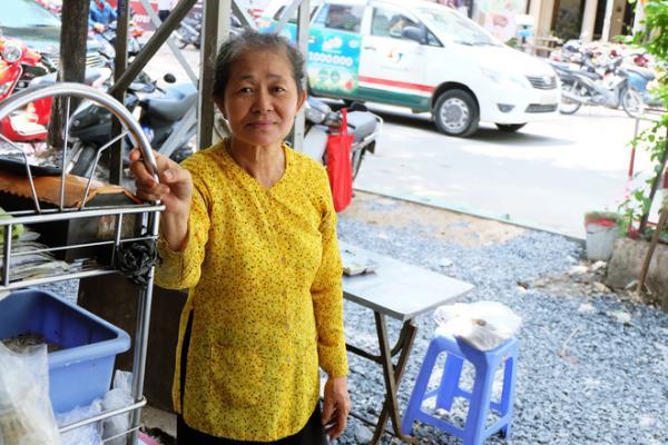 Cô Tươi vẫn luôn giữ được nét thanh tao giản dị của người Sài Gòn.