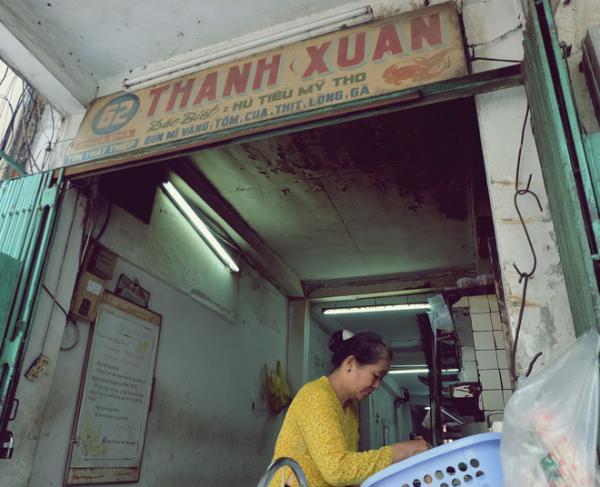 Có những buổi sáng rất Sài Gòn bên quán Thanh Xuân