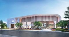 Khu nhà mẫu được LDG đầu tư rộng gần 1.000m2, có thể đón tiếp hơn 1.000 lượt khách mỗi ngày.