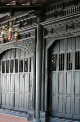 Ngôi nhà cổ được xây từ năm 1799 - Ảnh : Ngọc Tiến.