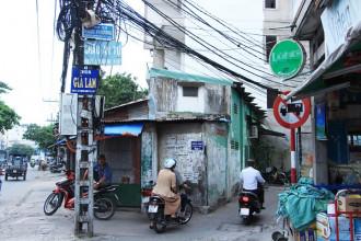 """Hẻm 498 đường Lê Quang Định được nhiều người biết đến với tên gọi """"hẻm thiền"""" vì có đến 4 ngôi chùa tọa lạc"""