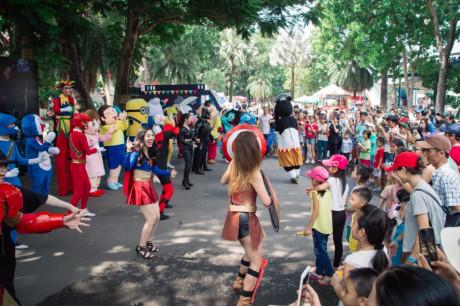 Ngày hội đường phố với nhiều hoạt động hấp dẫn diễn ra vào 23/7.