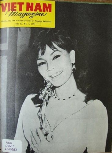 Nữ diễn viên nổi tiếng Kim Vui, người đoạt Giải thưởng năm 1971 dành cho nữ diễn viên điện ảnh xuất sắc nhất với vai diễn trong phim Chân Trời Tím.