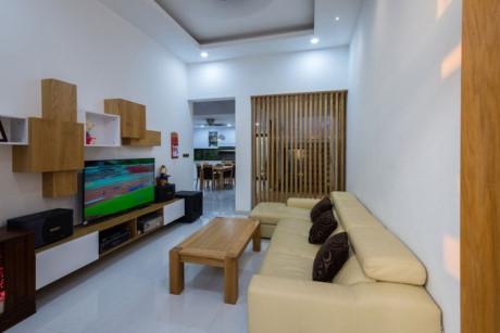 Không gian phòng khách hiện đại và rất tiện nghi.