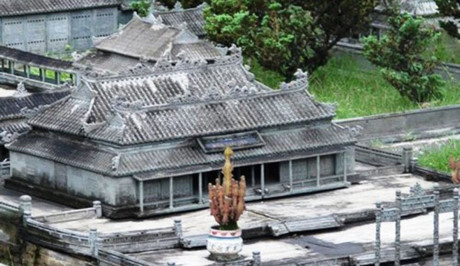 Mô hình Đại cung Môn.