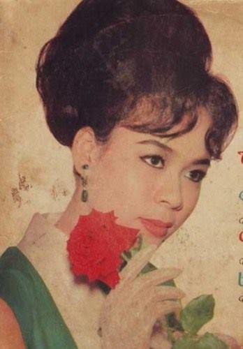 Vẻ đẹp của nữ ca sĩ lừng danh Sài Gòn.