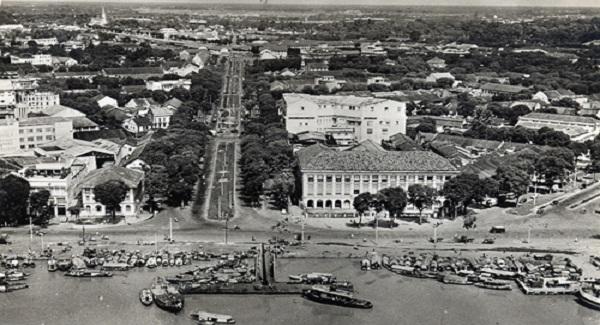 Trung tâm của Sài Gòn xưa. Ảnh: Flickr