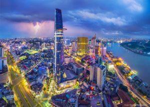 Sài Gòn ngày nay sau hơn 300 năm phát triển. Ảnh: Trần Bảo Hòa
