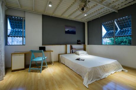 Phòng ngủ tối giản và tinh tế.