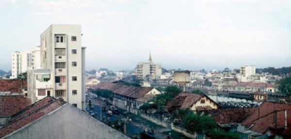 Ga Sài Gòn cũ bên đường Phạm Ngũ Lão, Sài Gòn năm 1969. Ảnh: D. Hoag.