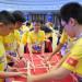 Học sinh Việt Nam tham dự cuộc thi WMO 2017 tại Trung Quốc. Ảnh: Khắc Thi