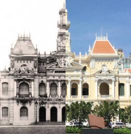 Kiến trúc Sài Gòn xưa và Sài Gòn nay