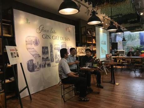 """Các diễn giả chia sẻ về """"di sản"""" Sài Gòn"""