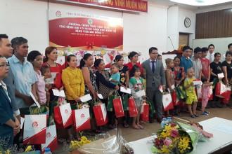 Công ty Kim Phát và Việt Hưng Phát trao những phần quà ý nghĩa cho bệnh nhân có hoàn cảnh khó khăn