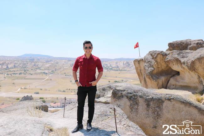 Dinh cao nhat quan sat Cappadocia