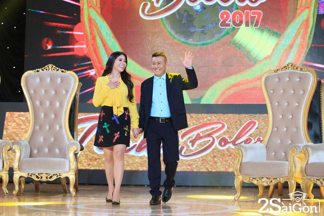 Nghe si Vu Thanh va Dien vien Ly Huong