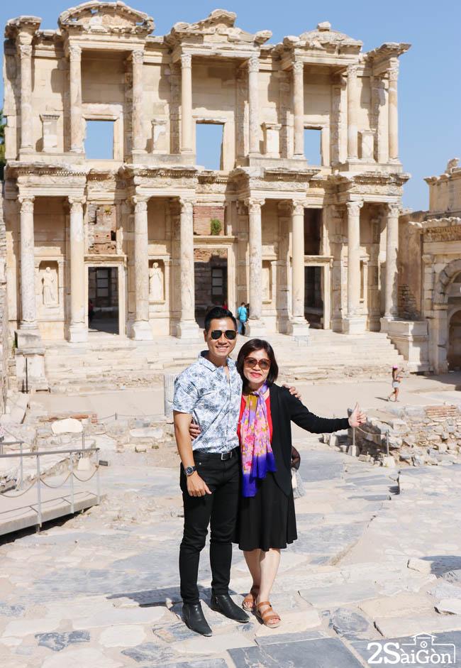 Thu vien sach o Ephesus