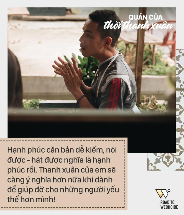 Anh Luân được truyền cảm hứng từ nhiều người và anh muốn truyền lại cảm hứng ấy cho những bạn trẻ khác.