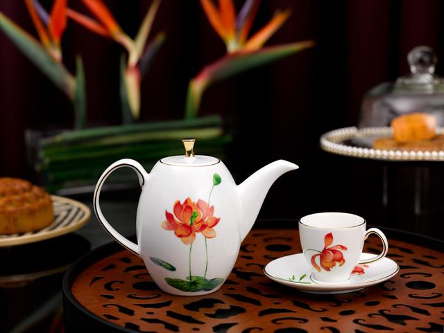 Bộ trà cao Hương sen