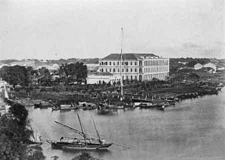 Cảng dành cho các tàu buôn (năm 1866).
