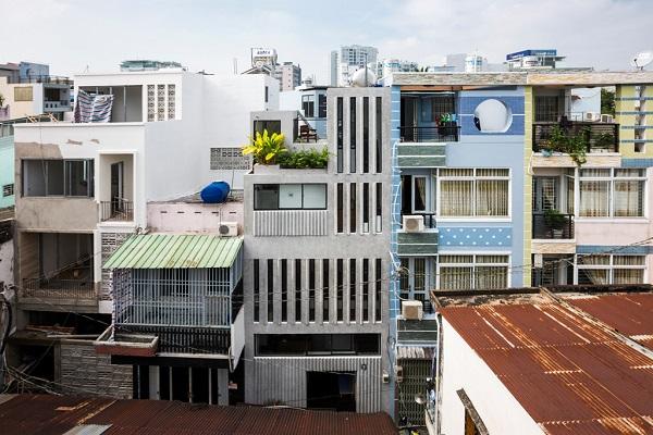 Công trình được thiết kế bởi Khuon Studio & Phan Khac Tung .