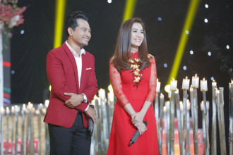 2. Dien vien Huynh Dong & Hoa hau anh Yen Nhi (1)