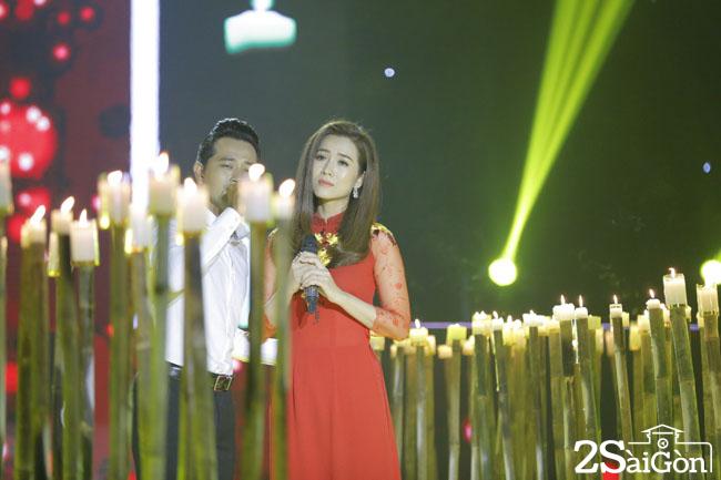 2. Dien vien Huynh Dong & Hoa hau anh Yen Nhi (2)
