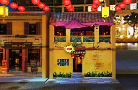 Tiệm trà Lipton - nơi du khách được tham gia các hoạt động đặc sắc.